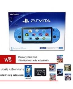 Ps Vita 2006 - Aqua Blue  FW3.60 Henkaku+Mem 16 G+Hori Film