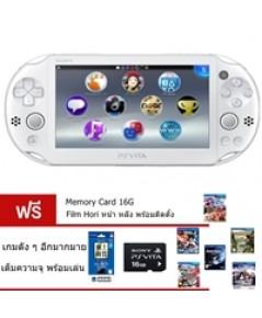 Ps Vita 2006 - White  FW3.60 Henkaku+Mem 16 G+Hori Film