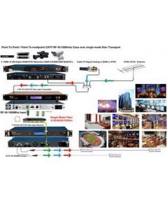 ระบบห้องส่งดิจิทัลทีวีขนาดใหญ่สำหรับองค์กรต่างๆ ส่งเป็น10ๆกิโลได้