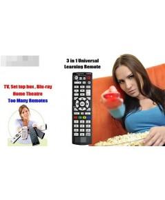 รีโมทอัจฉริยะ ตัวเดียวสั่งได้ทั้งทีวีและกล่องดิจิตอลทีวี
