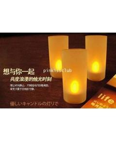 เทียนไฟฟ้า Romantic Candle เทียน LED 8 อัน