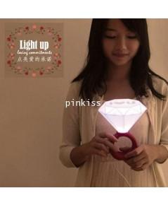 โคมไฟแหวนเพชร Diamond Ring Light