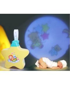 โคมไฟดาว สำหรับเด็กทารก พร้อมเสียงเพลง