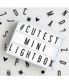 กล่องไฟพร้อมตัวอักษร DIY Cinematic Light Box