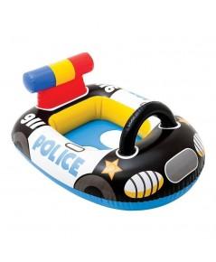 ห่วงยางว่ายน้ำ สอดขา ลายรถดำรวจ