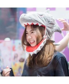 หมวกปลามกินหัว หมวกปลาฉลามงับหัว กินทั้งหัว