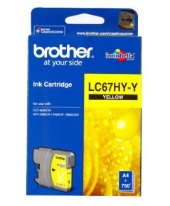 BROTHER LC-67HY YELLOW