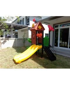 ชุด Wood house slide