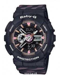 นาฬิกาผู้หญิง BABY-G รุ่น BA-110CH-1A สีดำ