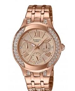 นาฬิกาผู้หญิง SHEEN รุ่นพิเศษ SHE-3809PG-9A สายสแตนเลสสีโรสโกล์ด