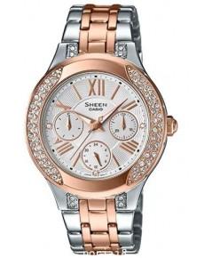 นาฬิกาผู้หญิง SHEEN รุ่นพิเศษ SHE-3809SG-7A สายสแตนเลสสีเงิน