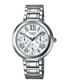 นาฬิกาผู้หญิง SHEEN รุ่นพิเศษ SHE-3034D-7A สายสแตนเลสสีเงิน