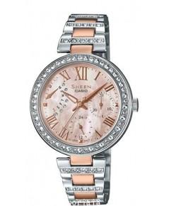 นาฬิกาผู้หญิง SHEEN รุ่นพิเศษ SHE-3043BSG-9A สายสแตนเลสสีเงิน