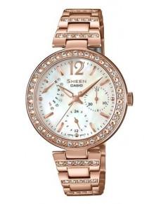 นาฬิกาผู้หญิง SHEEN รุ่นพิเศษ SHE-3043PG-7A สายสแตนเลสสีโรสโกล์ด