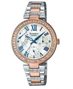 นาฬิกาผู้หญิง SHEEN รุ่นพิเศษ SHE-3043SPG-7A สายสแตนเลสสีเงิน