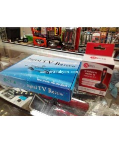 กล่องดิจิตอลทีวี สำหรับรถยนต์ DVB-T2 เมนูภาษาไทย 4 จอAV +1 hdmi คมชัดHD เสียงใส