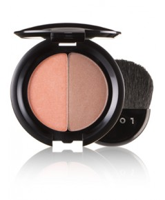 สินค้าพร้อมส่ง++LORAC Blush/Bronzer Duo สี HotSpicy (peach shimmer/light bronze shimmer) ขนาดปกติค่ะ