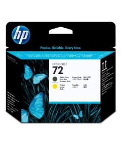 HP  Printhead NO.72 Black+Yellow for DSJ-T610,T620,T770,T790,T1100,T1120,T1200,T1300,T2300