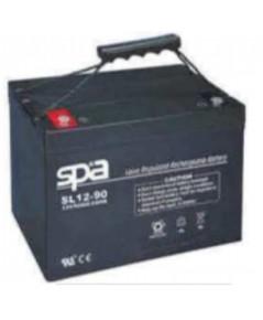 แบตเตอรี่แห้ง SPA สปา รุ่น SL12-90AH (12V 90AH)