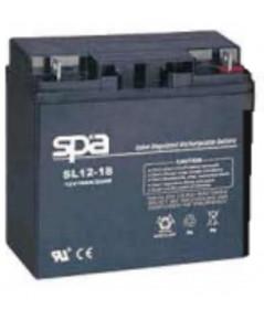 แบตเตอรี่แห้ง SPA สปา รุ่น SL12-18AH (12V 18AH)