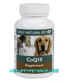 Natural Pet CoQ10 เสริมภูมิต้านทาน ป้องกันโรค บำรุงเซลล์ บำรุงหัวใจ ป้องกันมะเร็ง (90 แถม 10)