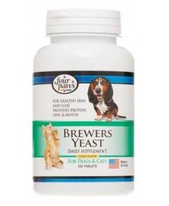 Brewers Yeast  (Plus VitaminB+Garlic) เสริมวิตามิน B  บำรุงขนและผิวหนัง แก้ขนร่วง กระปุก 250 เม็ด