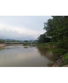 จ.นครนายก อ.เมือง ต.หินตั้ง ฉ.26-0-0ไร่ ติดแม่น้ำ ใกล้สะพานข้ามแม่น้ำ