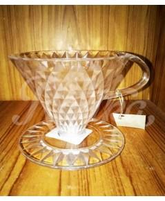 Crystal Coffee Dripper (1-4 cups)