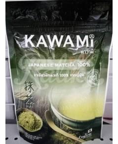 Kawami Japanese Matcha คาวามิ ชาเชียวมัทฉะแท้  จากญี่ปุ่น 100 กรัม