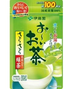 ชาเขียว Itoen แบบผง ผสมมัจฉะ ขนาด 100 ถ้วย [JF-006_232A]