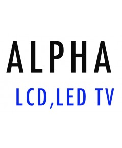 APLHA  LCD , LED  TV  REMOTE CONTROL