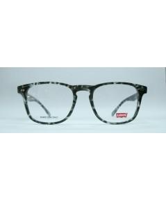 แว่นตา LEVI\'S LS123 สีดำกระ