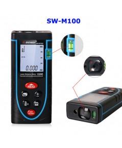 RF15 – ตลับเมตรดิจิตอล เลเซอร์วัดระยะดิจิตอล SNDWAY SW-M100 100M Laser Rangefinder