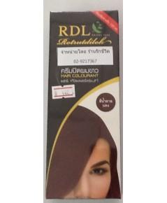 RDL ครีมปิดผมขาว สีน้ำตาลแดง