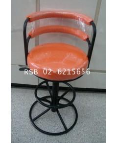 เก้าอี้บาร์ โครงเหล็ก ปรับสูงต่ำระบบไฮโดรลิค ราคาขายส่ง รหัส 418