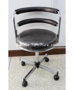 เก้าอี้บาร์ เตี้ย cc มีล้อ