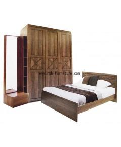 ชุดห้องนอน มอนทาน่า รหัส 1702