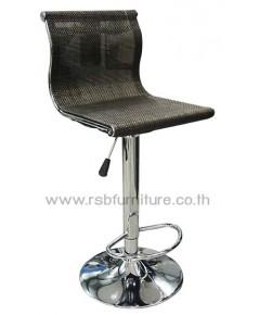 เก้าอี้บาร์ พนักพิงลายสานตาข่าย รหัส 2015