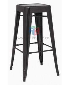 เก้าอี้บาร์เหล็ก สไตล์ลอฟท์ MODERN, TOLIX BAR STOOL รหัส 2232