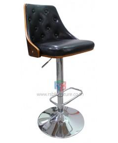 เก้าอี้บาร์ หนังดีไซน์ เรโทร รหัส 2268