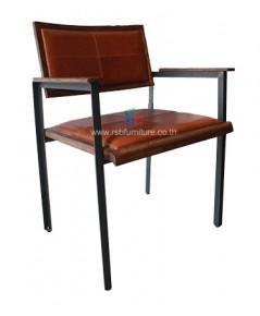 เก้าอี้ไม้วอลนัท รหัส 2450 สไตล์ loft