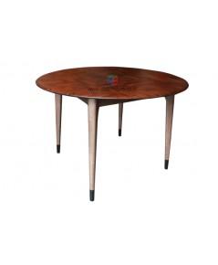โต๊ะไม้วอลนัท ไม้ธรรมชาติทั้งตัว งานดีไซน์