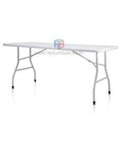 โต๊ะพับอเนกประสงค์ หน้าโต๊ะผลิตจากพลาสติกคุณภาพสูง รหัส 2552
