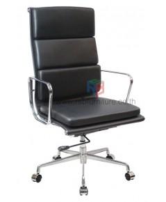 เก้าอี้สำนักงาน ผู้บริหาร EAMES SOFT PAD HIGH BACK (REPLICA) โครงอะลูมิเนียมทั้งตัว รหัส 2732 ราคา