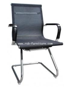 เก้าอี้สำนักงานโครงขาตัวซี MESH SLIM พนักพิงและที่นั่งตาข่าย รหัส 2737