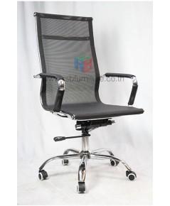 เก้าอี้สำนักงาน ผู้บริหาร MESH SLIM ตาข่ายเหนียวทน โครงเหล็กชุบโครเมี่ยม ราคาล้างสต๊อก มีจำนวนจำกัด