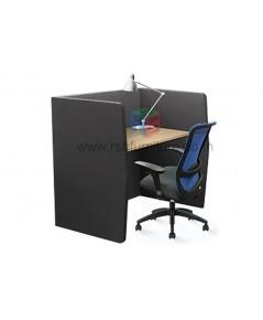 Cubic Office Booth โครงไม้หนา PCD1309 Taiyo เพิ่มTopไม้ รหัส 2832