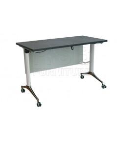 โต๊ะพับล้อเลื่อน โครเงหล็กหนา รหัส 2859