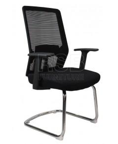 เก้าอี้สำนักงาน ขาเหล็กตัวC รหัส 2876