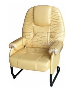 เก้าอี้พักผ่อน ขาเหล็กตัว C รหัส 2905